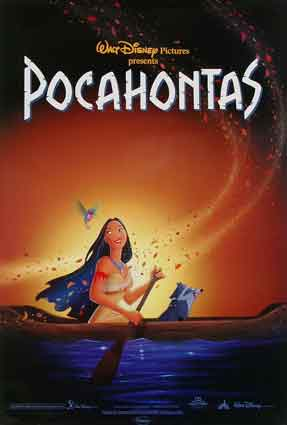 Disney's Pocahontas Movie Poster