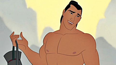 Disney's Mulan Shang shirtless