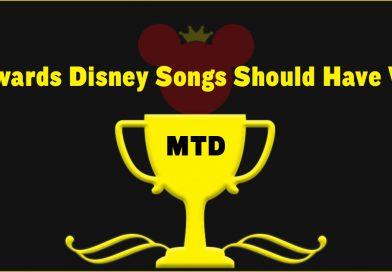 8 Awards Disney Songs Should Have Won