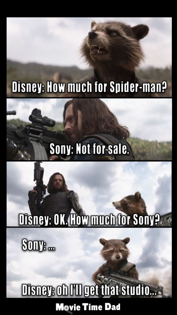 Disney asking Sony to buy SpiderMan