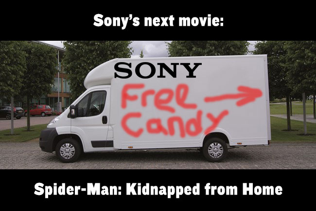 Sony Kidnapping SpiderMan