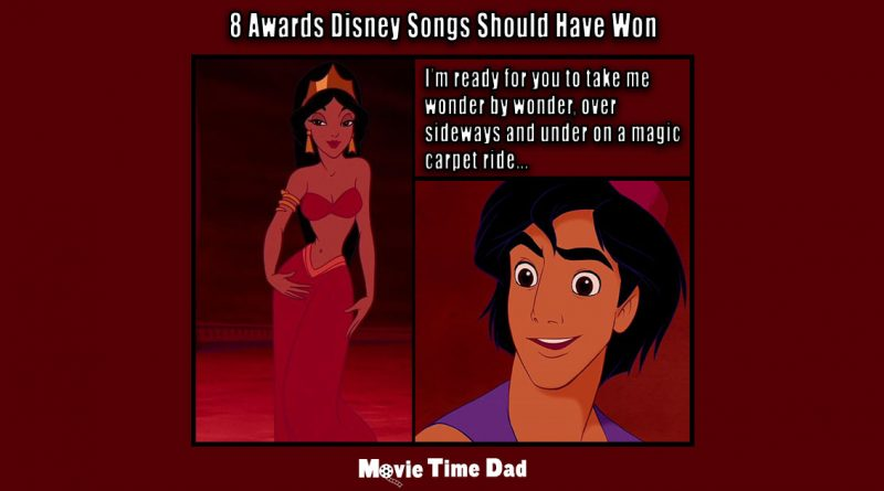 8 Awards Disney Songs Should Have Won