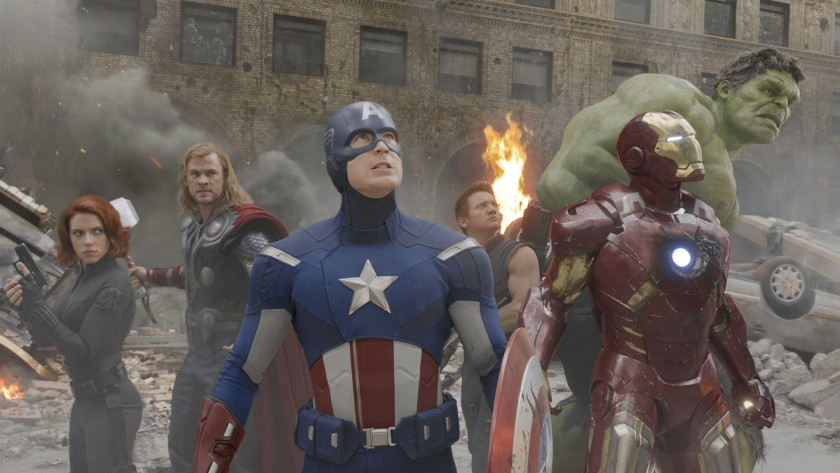Original Avengers circled up in New York with Black Widow and Iron Man