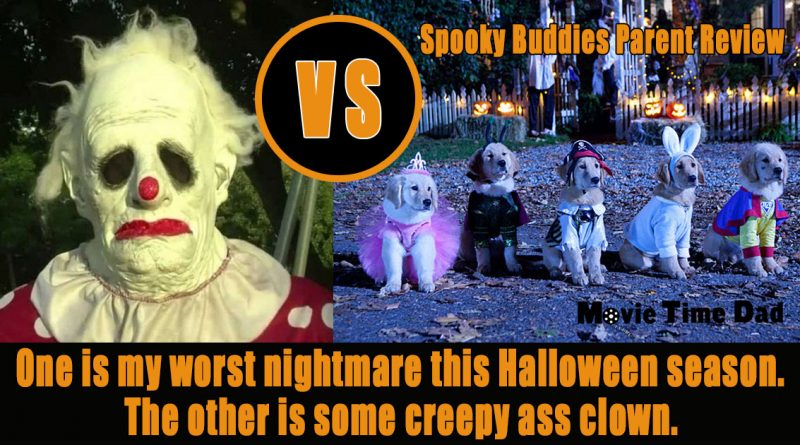 Creepy clown vs spooky buddies parent review