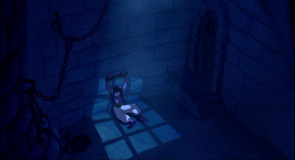 Aladdin (1992) in dungeon