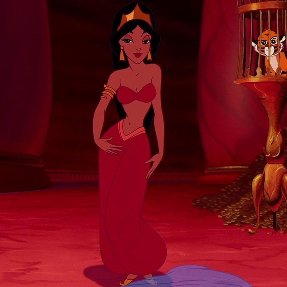 Aladdin (1992) Jasmine tricking Jafar