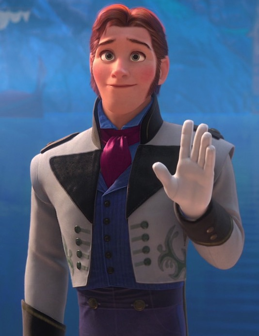 Prince Hans of the Southern Isles - biggest douche bag in Disney