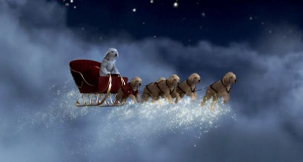 Santa Buddies - Parent Review: Santa Buddies pulling sleigh