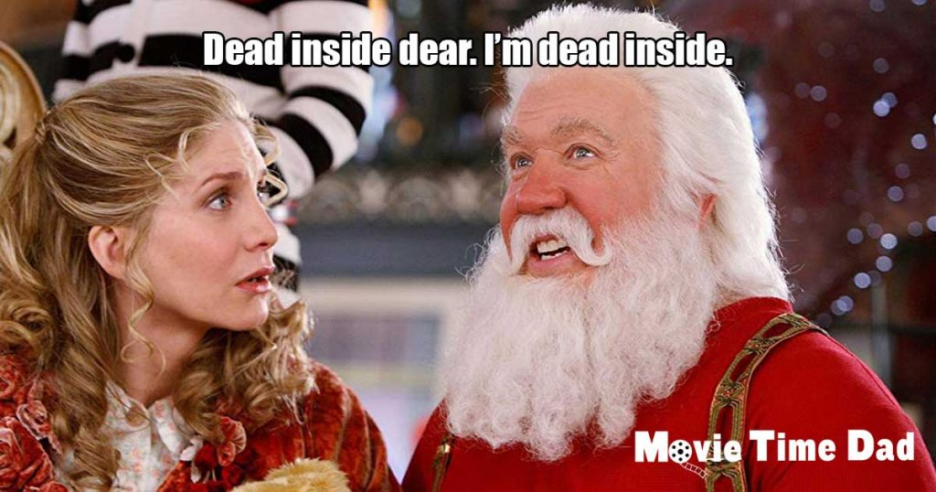 Dead inside dear. I'm dead inside.