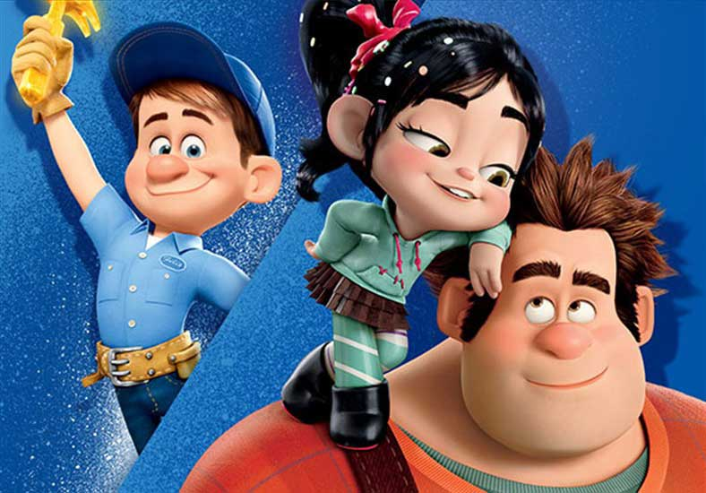 Fix It Felix, Vanellope, and Ralph - Wreck-It Ralph
