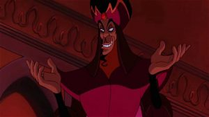 Jafar looking ominous