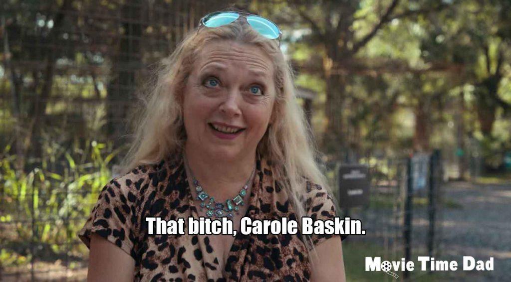 Carole Baskin from Netflix's Tiger King