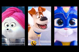 Gidget, Max, and Snowball from Secret Life of Pets 2