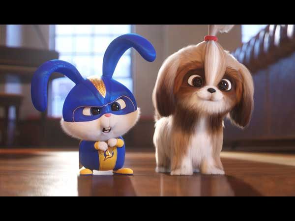 Snowball and Daisy from Secret Life of Pets 2
