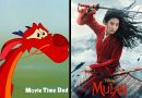 Mushu looking at live action Mulan