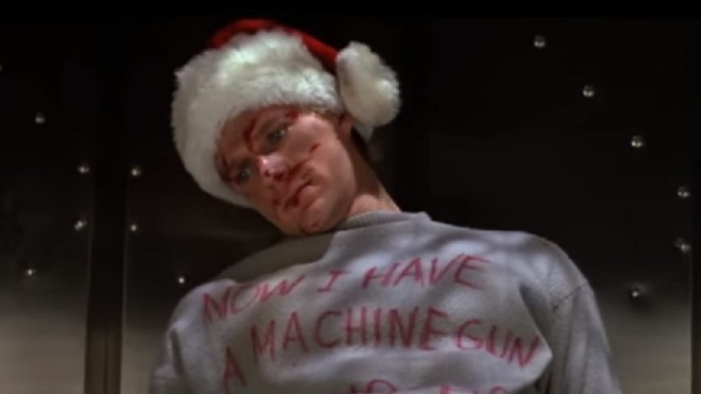 Now I have a machine gun, ho ho ho. Die Hard and Home Alone Christmas movies
